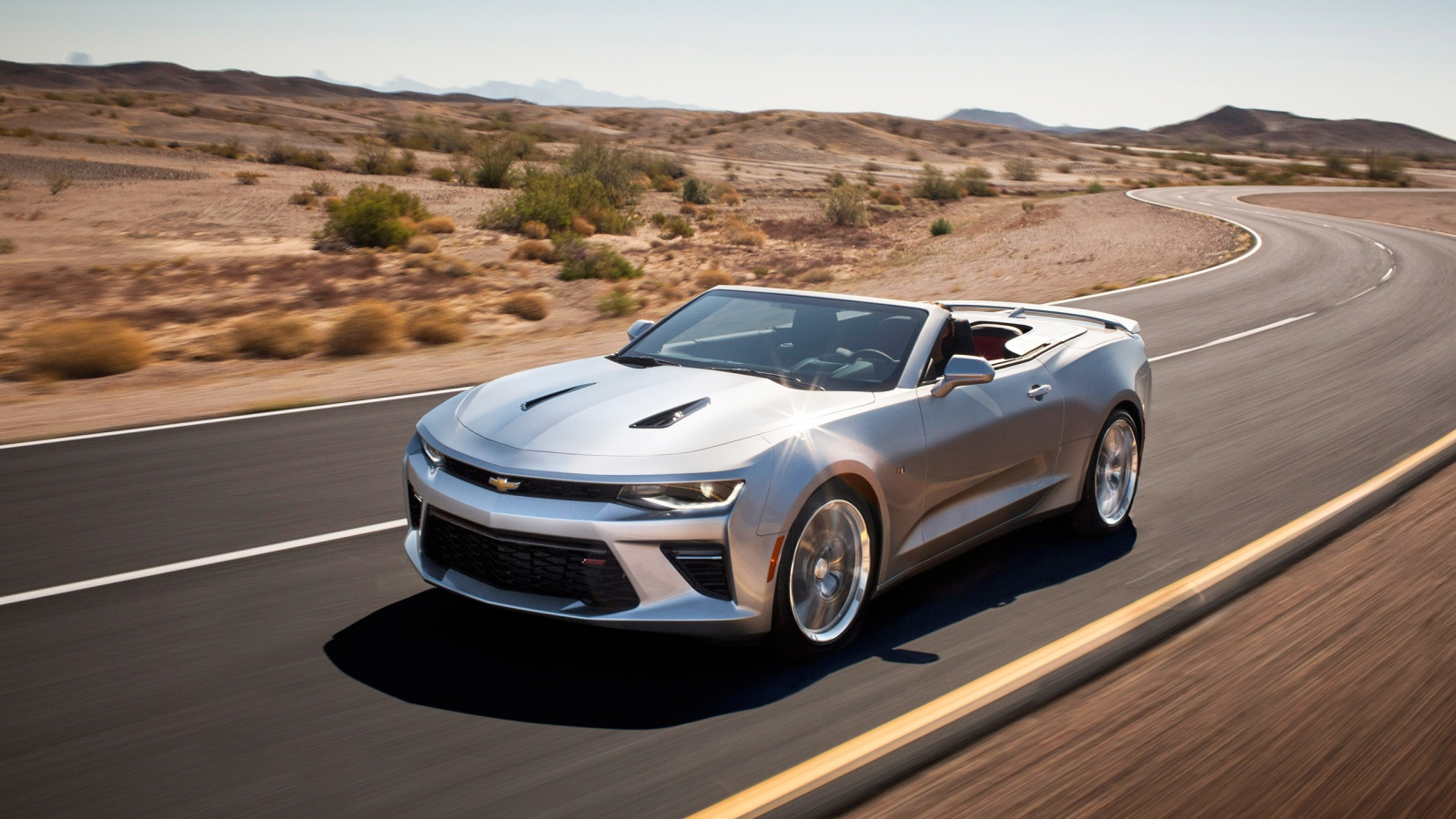 2016 Chevrolet Camaro Convertible Wallpaper HD Car Wallpapers 1600x900