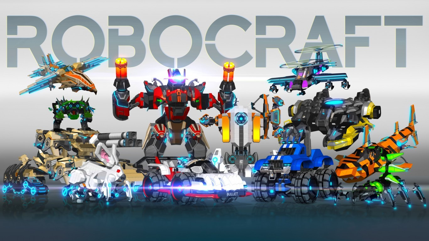 Download 1366x768 Robocraft Robots Wallpapers for LaptopNotebook 1366x768
