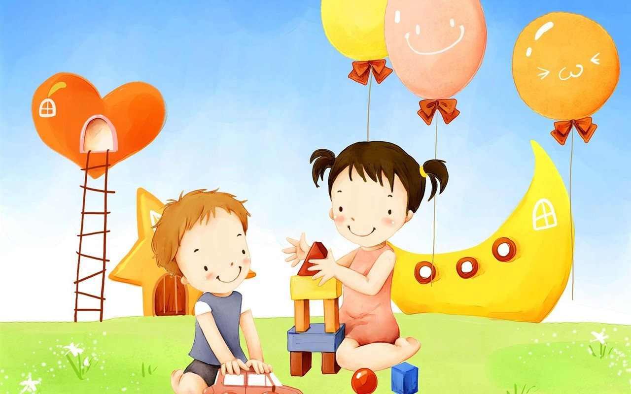 PicturesPool Childrens Day Wallpaper Greetings KidsFunDrawing 1280x800