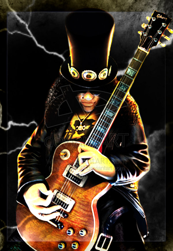76 Slash Guitar Wallpaper On Wallpapersafari