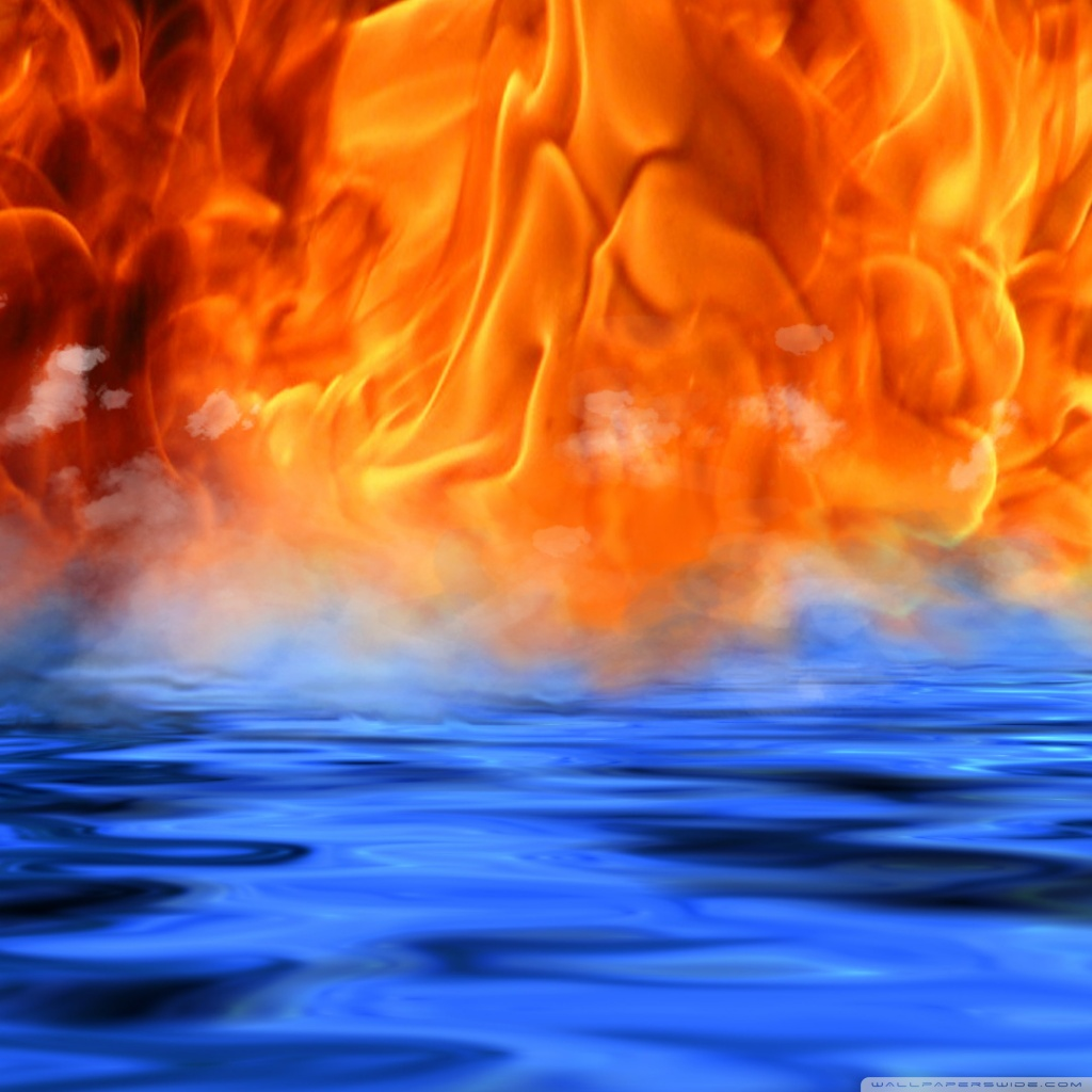 fire and water wallpaper   wallpapersafari