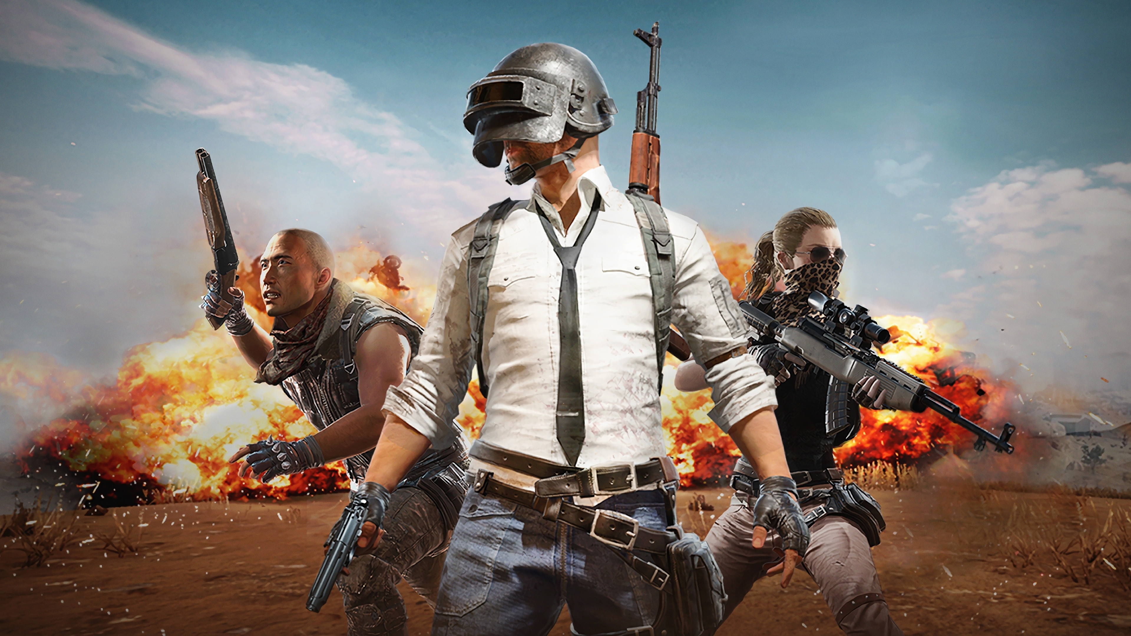 PlayerUnknowns Battlegrounds PUBG 4K 8K HD Wallpaper 3840x2160