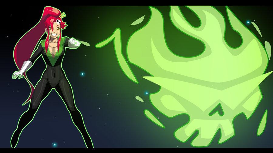 Green Lantern Yoko Wallpaper by morganagod 900x506