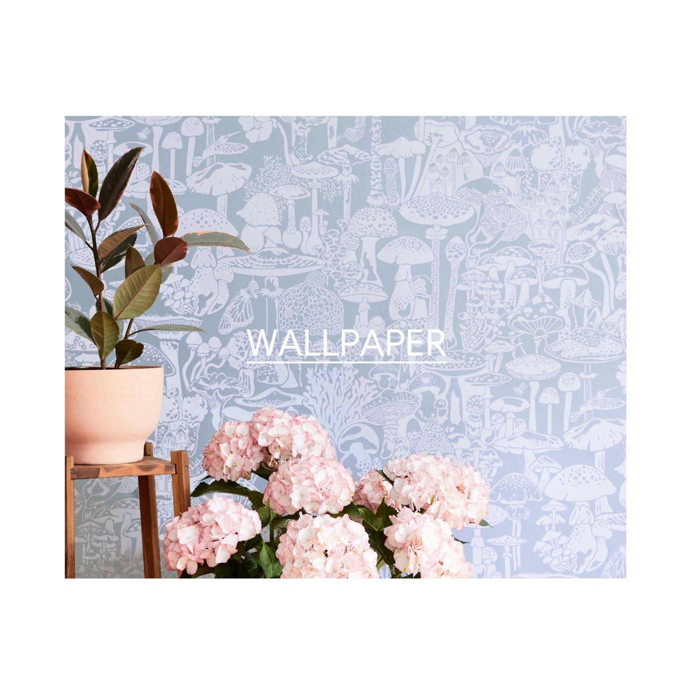 Aime Wilder Designer Wallpaper Fabrics Rugs Textiles Made in USA 1400x1400