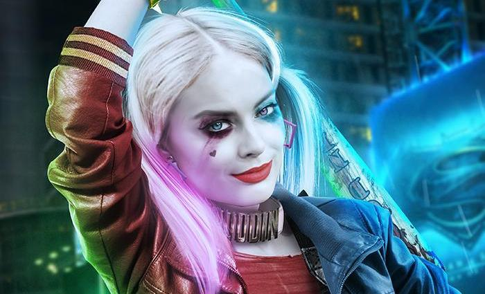 beautiful suicide squad fan art of margot robbies harley quinn1jpg 700x425