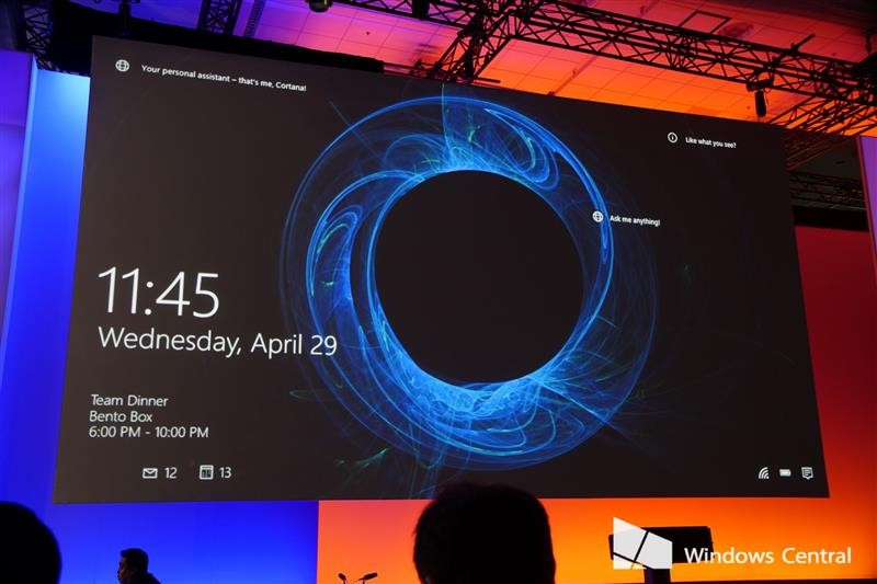 More Windows 10 features like Windows Spotlight lockscreen shown at 800x533