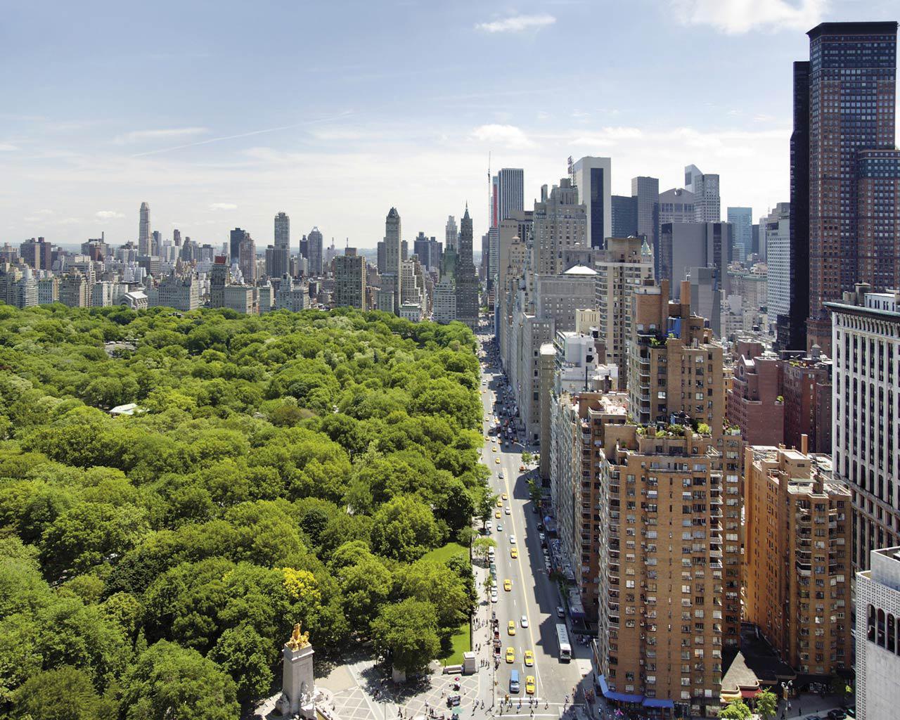 Best city - New York - Central Park 1280x1024 Wallpaper #3