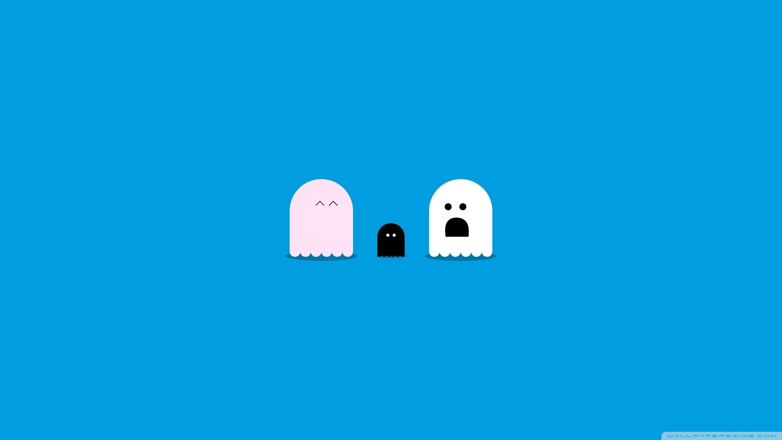 Funny Ghosts Situation 4K HD Desktop Wallpaper for 4K Ultra HD 2560x1440