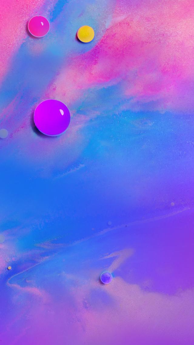 Wallpaper Samsung Galaxy M10 abstract colorful HD OS 21444 640x1138