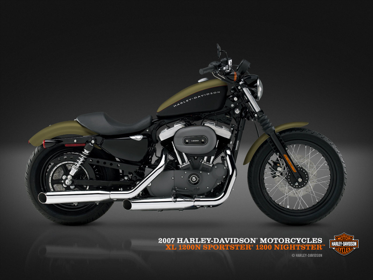 Harley Davidson Sportster Wallpaper 7414 Hd Wallpapers in Bikes 1280x960