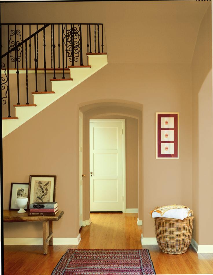 Dunn Edwards Paints paint colors Wall Warm Butterscotch DE6151 Trim 736x950