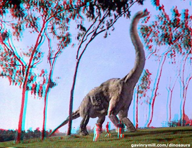 3D Dinosaurs Stereograms for RedGreen Glasses 634x489