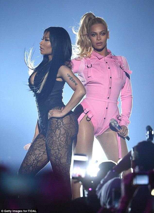 Beyonce and Nicki Minaj – Performs at Tidal Concert in NY