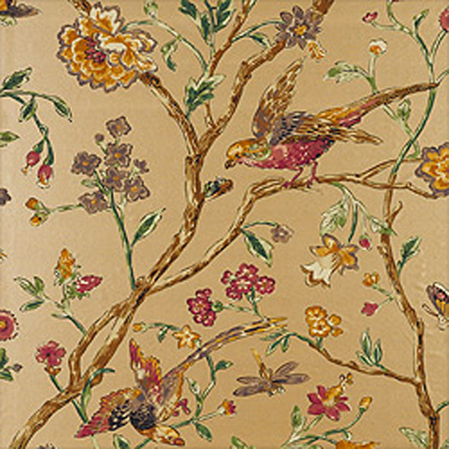 Home Brands Thibaut Great Estates Thibaut Aviary Metallic Gold 500x500