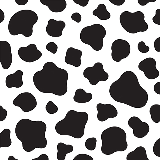 image regarding Cow Spots Printable referred to as Cow Places Template