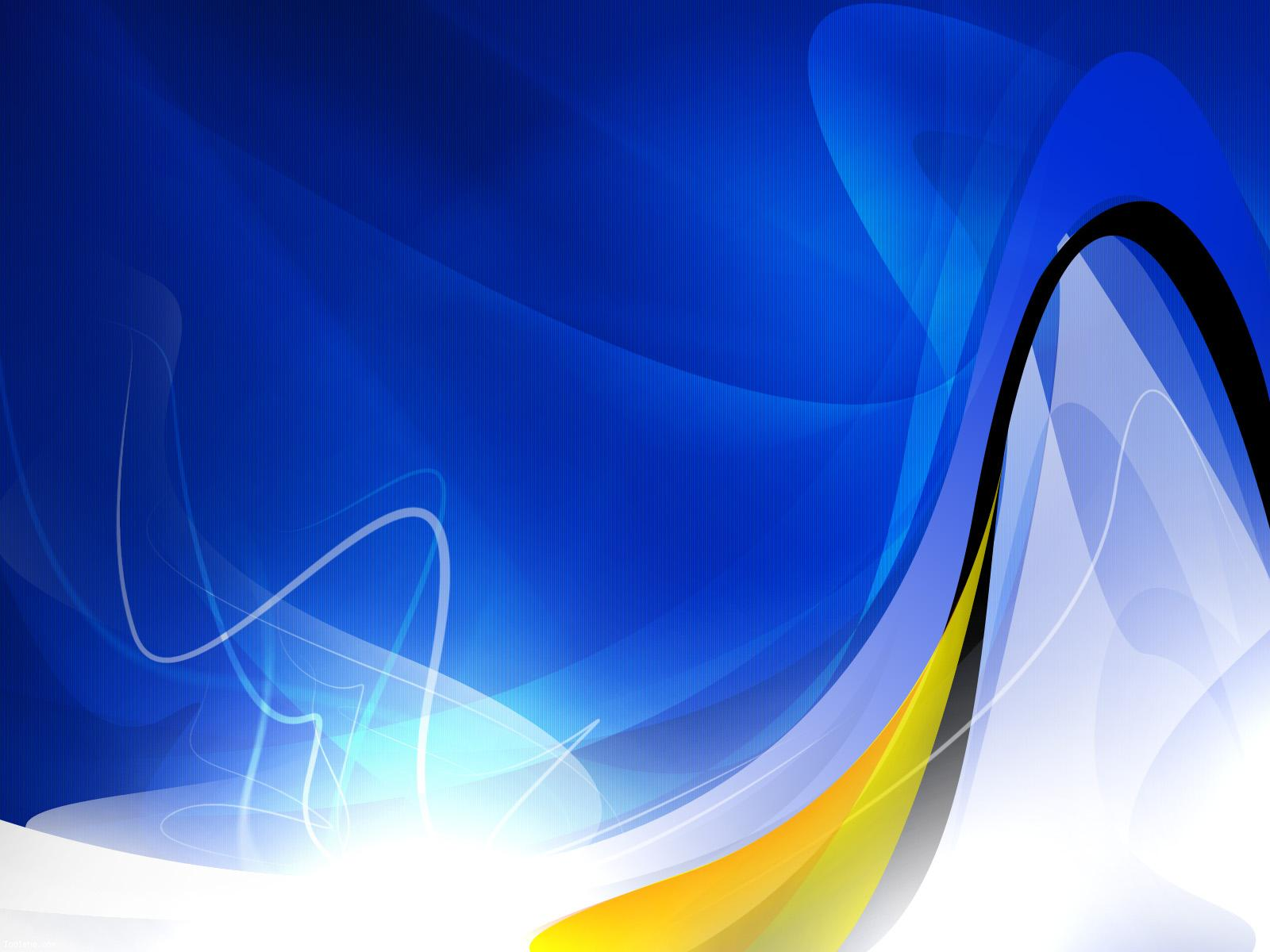 Abstract Wallpaper Blue And Gold