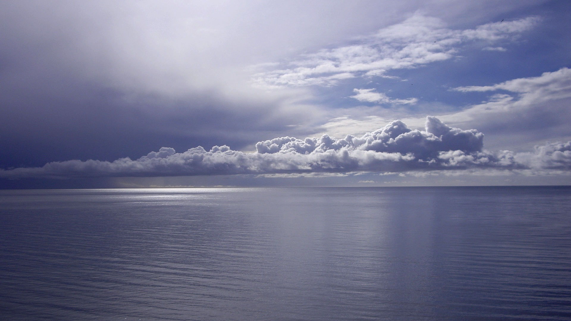 Water Ocean Wallpaper 1920x1080 Water Ocean Clouds Seascapes 1920x1080