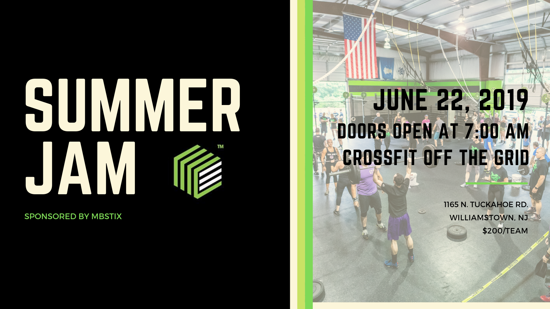 2019 Summer Jam Team Competition   Crossfit Off The Grid 1920x1080