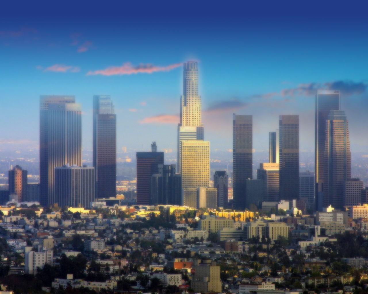 Downtown LA Wallpaper