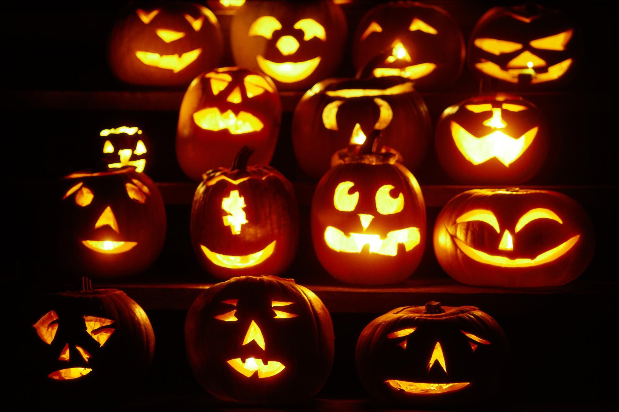 Halloween Pumpkin Backgrounds 1999x1333