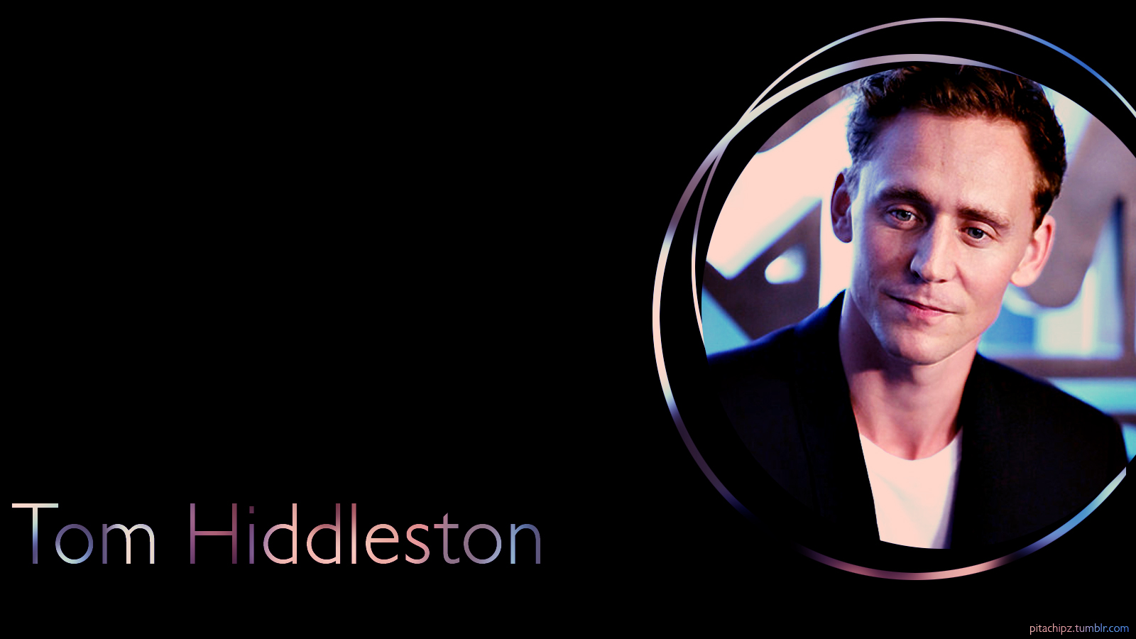 image caption tom hiddleston wallpaper by botan08 on deviantart 1600x900
