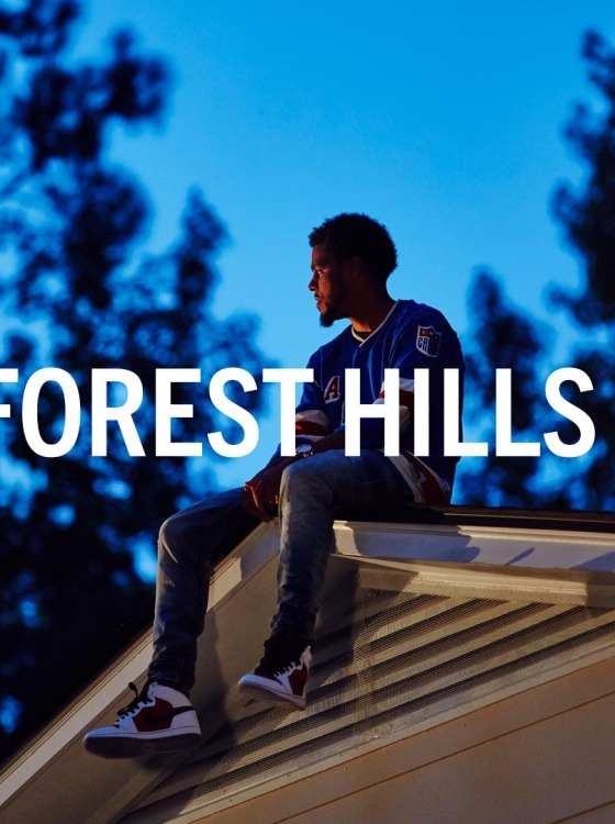 Video J Cole Announces 2014 Forest Hills Drive Album 560x750