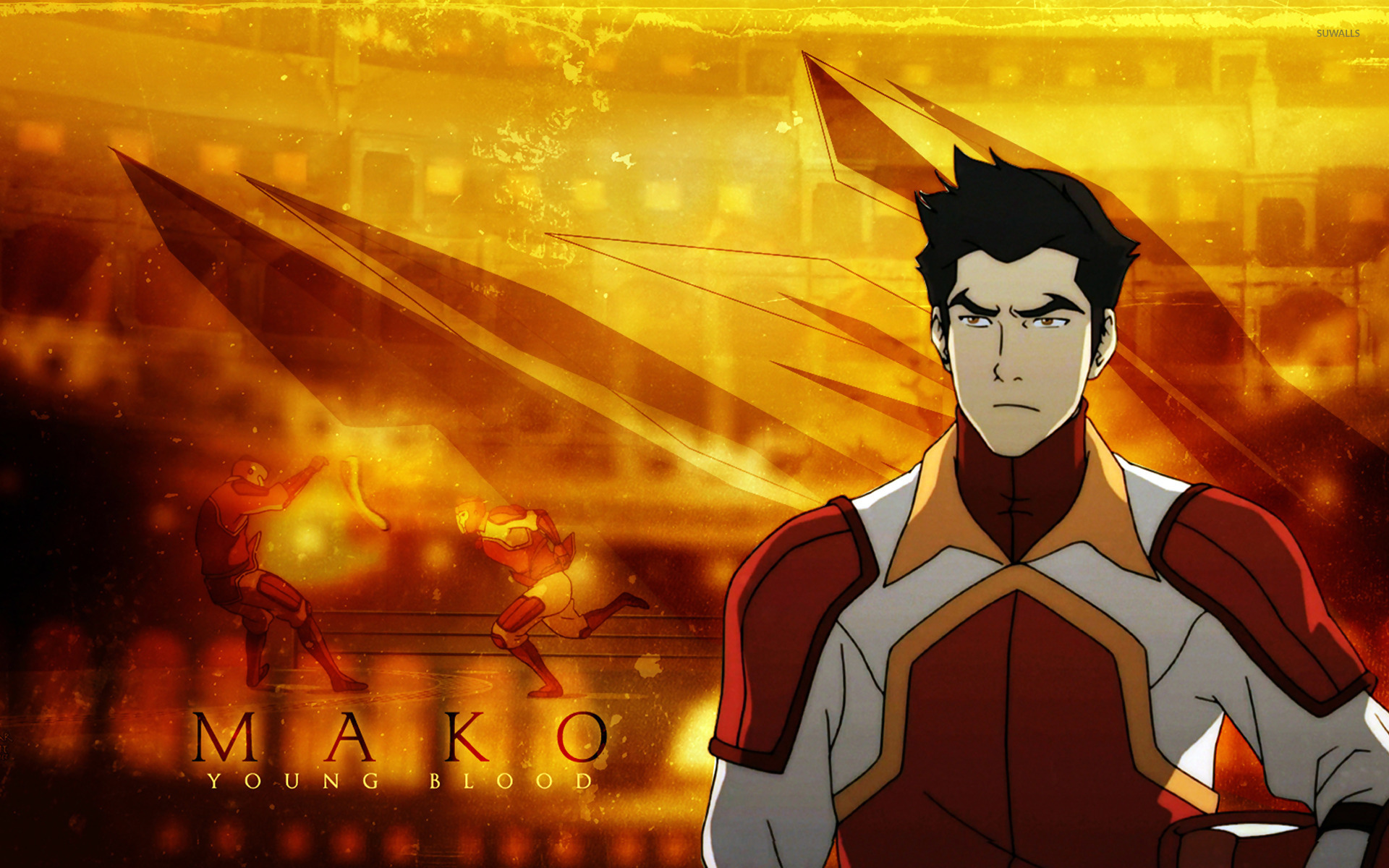 Mako   Avatar The Legend of Korra wallpaper   Anime wallpapers 1920x1200