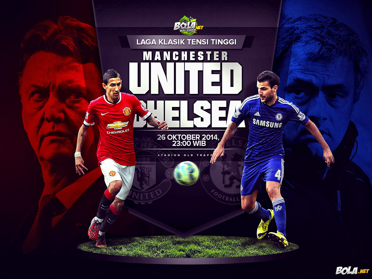 Download Wallpaper   Manchester United vs Chelsea   Bolanet 1280x960
