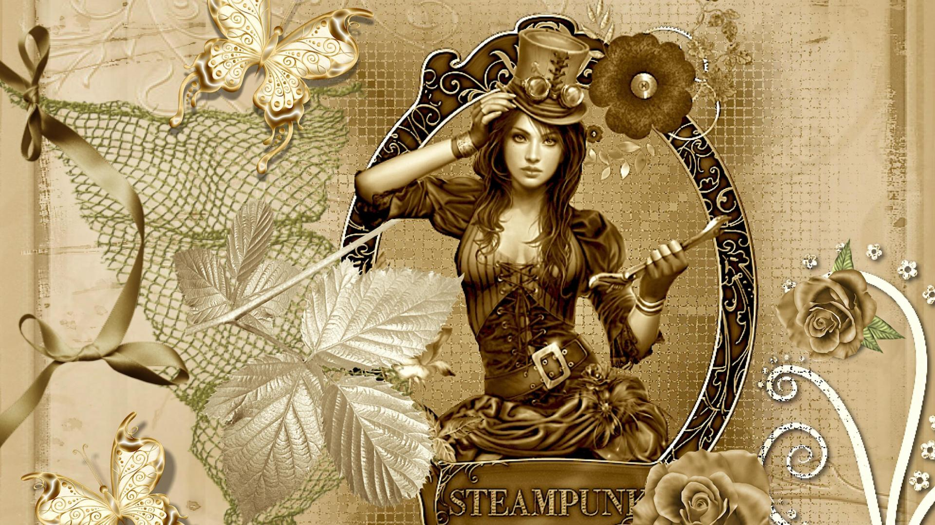 Steampunk girl   128496   High Quality and Resolution Wallpapers on 1920x1080