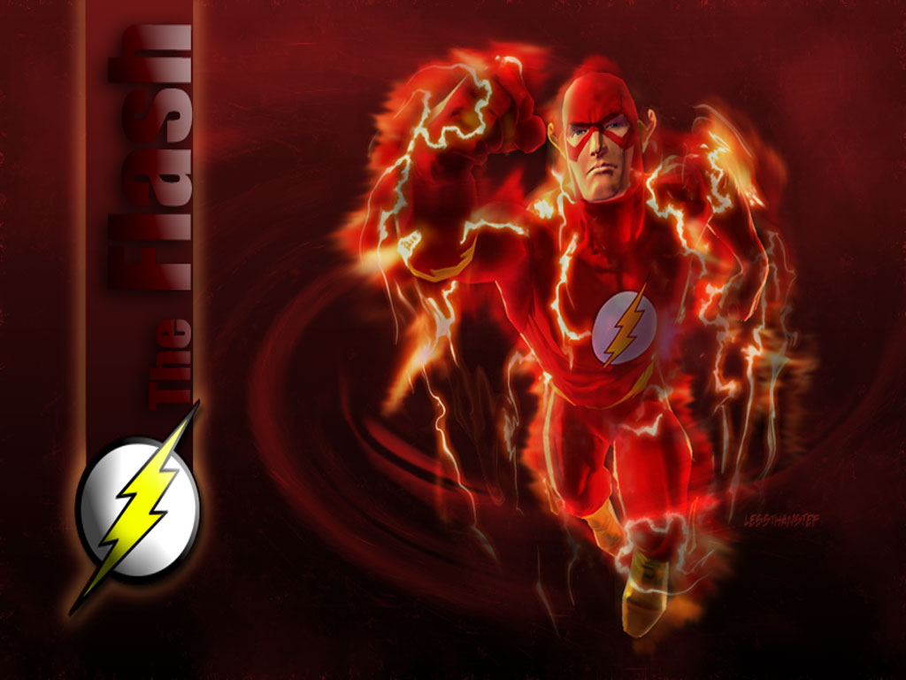 Wallpapers   The Flash wallpaper 1024x768