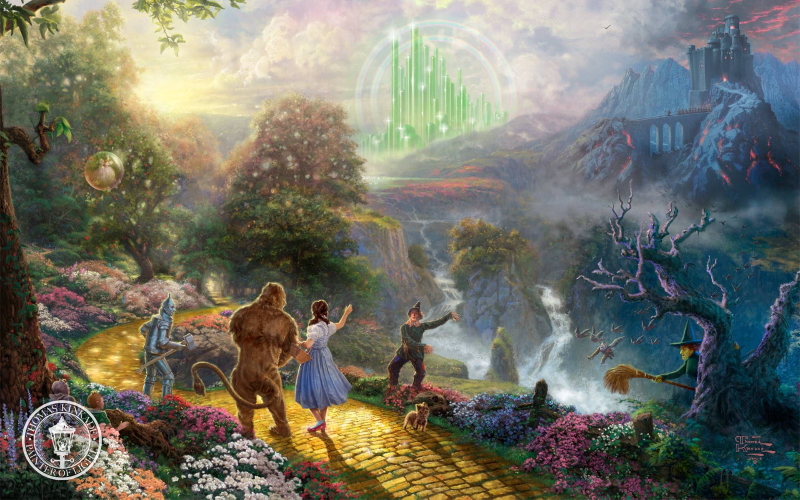 Thomas Kinkade Disney Wallpapers 2560x1600