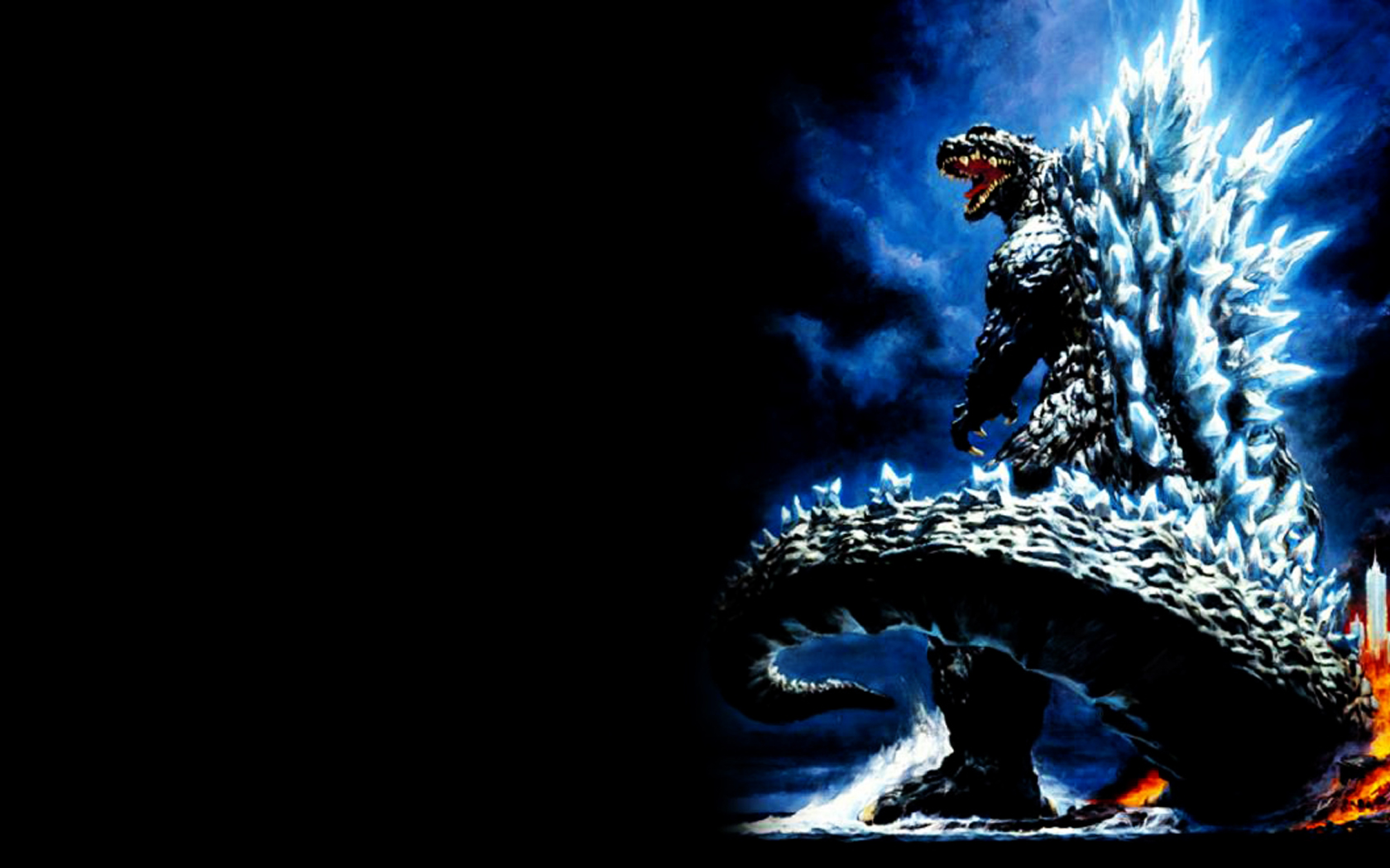 Pics Photos   Godzilla Wallpaper Wallpaper 1680x1050