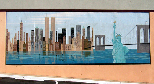 New York City Skyline Wallpaper Murals 500x274