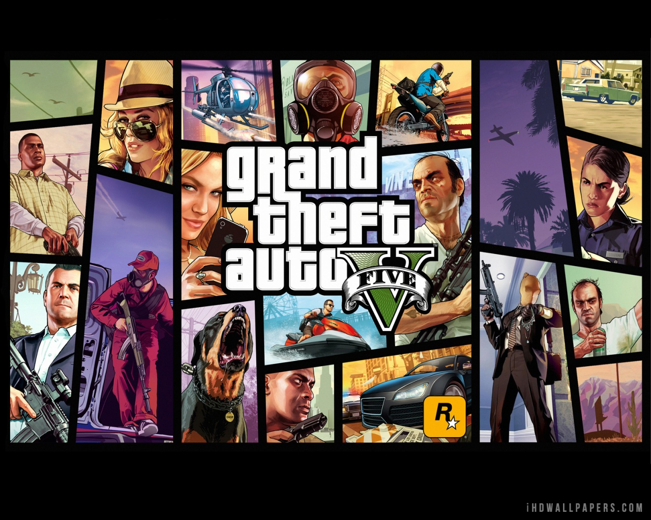 Grand Theft Auto Gta 5 Wallpaper Hd   3D Drawing Ideas 1280x1024
