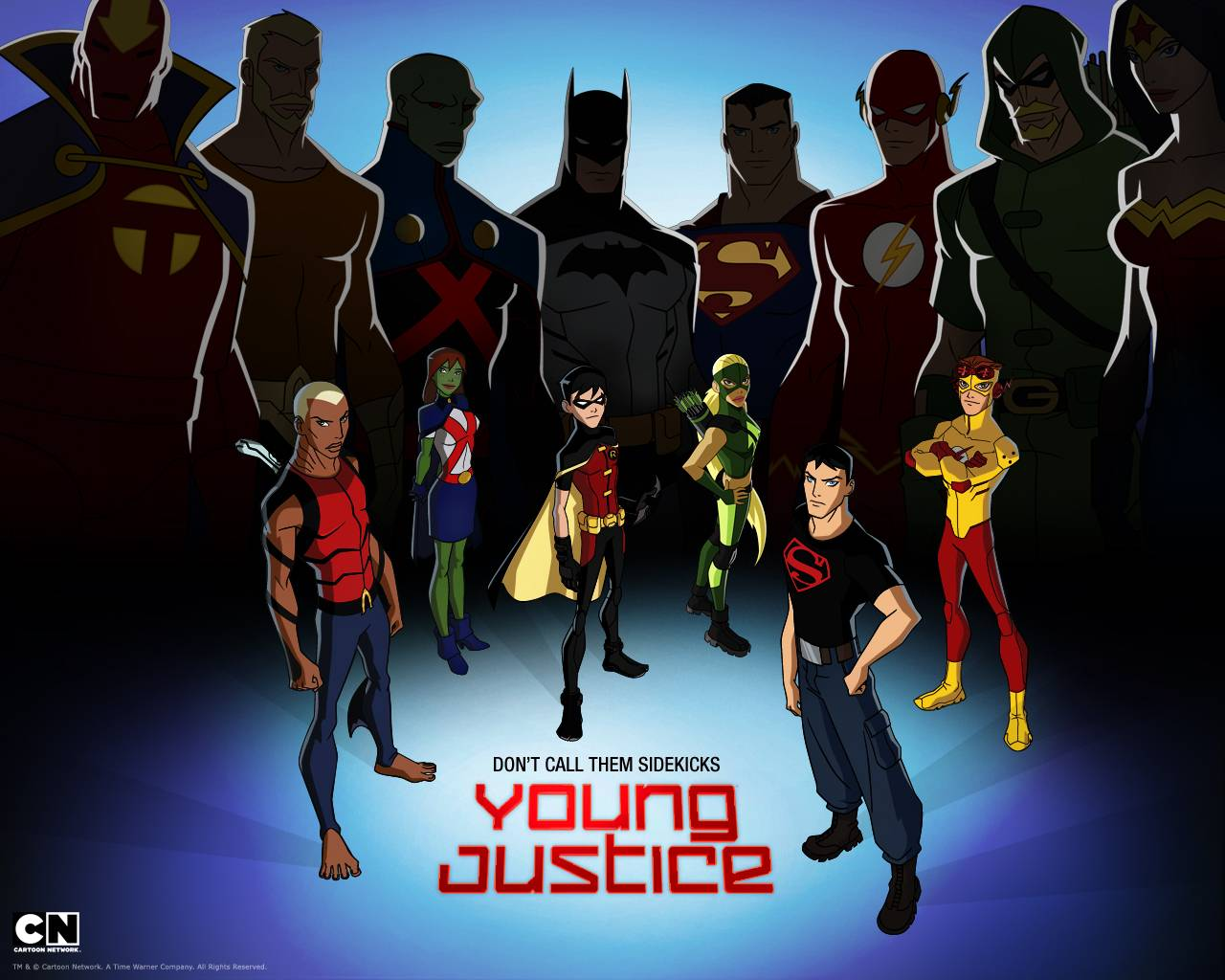 Young Justice WallPaper   Young Justice Wallpaper 1280x1024