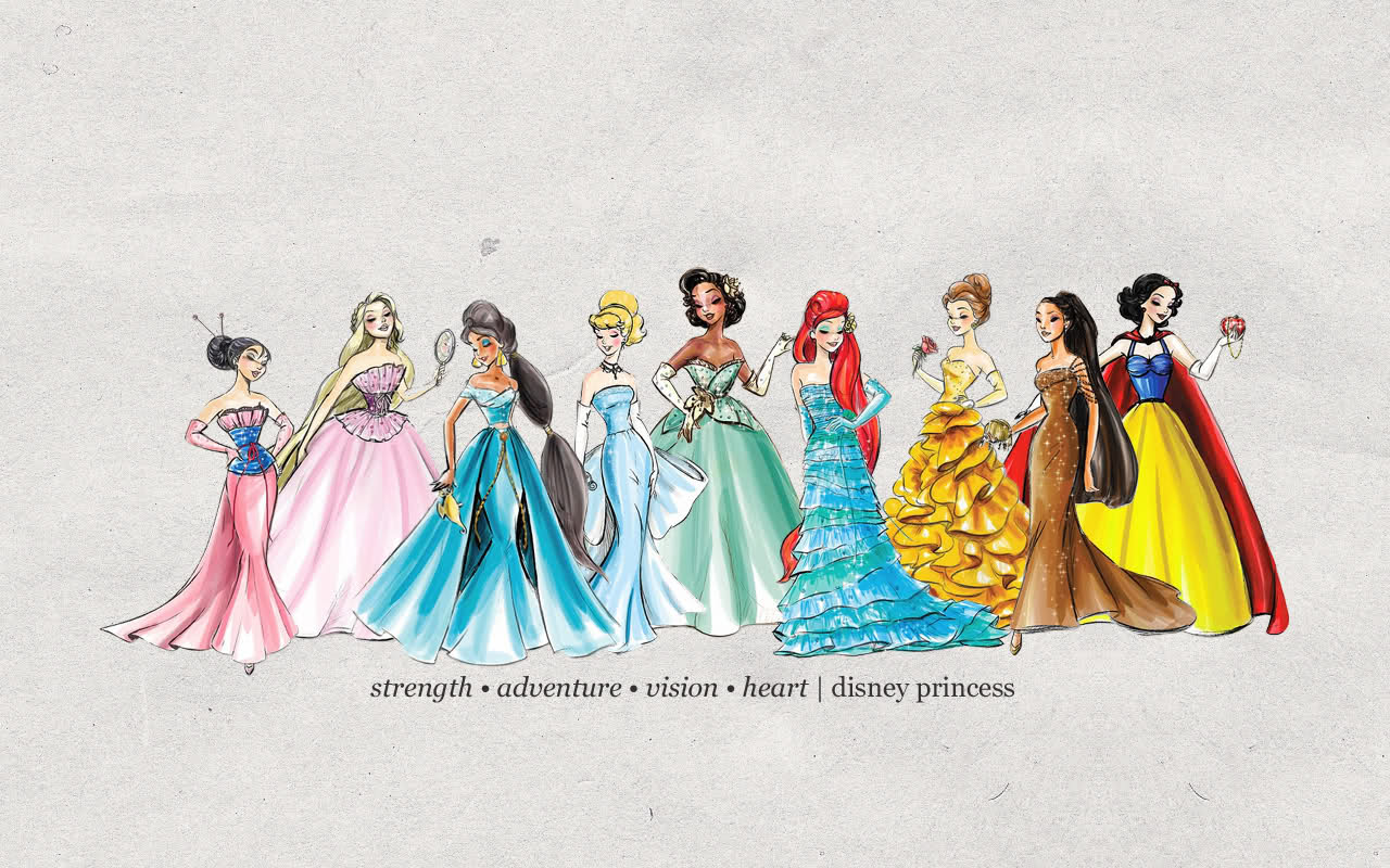 Designer Disney Princesses disney princess 30612000 1280 800jpg 1280 1280x800