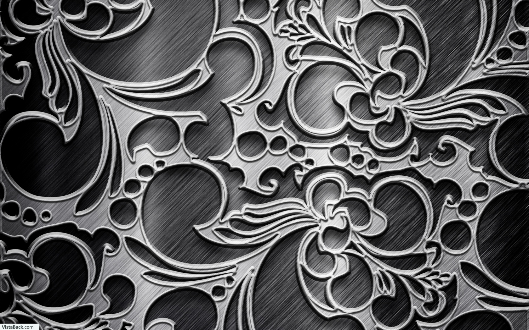 46 Black Silver Hd Wallpaper On Wallpapersafari