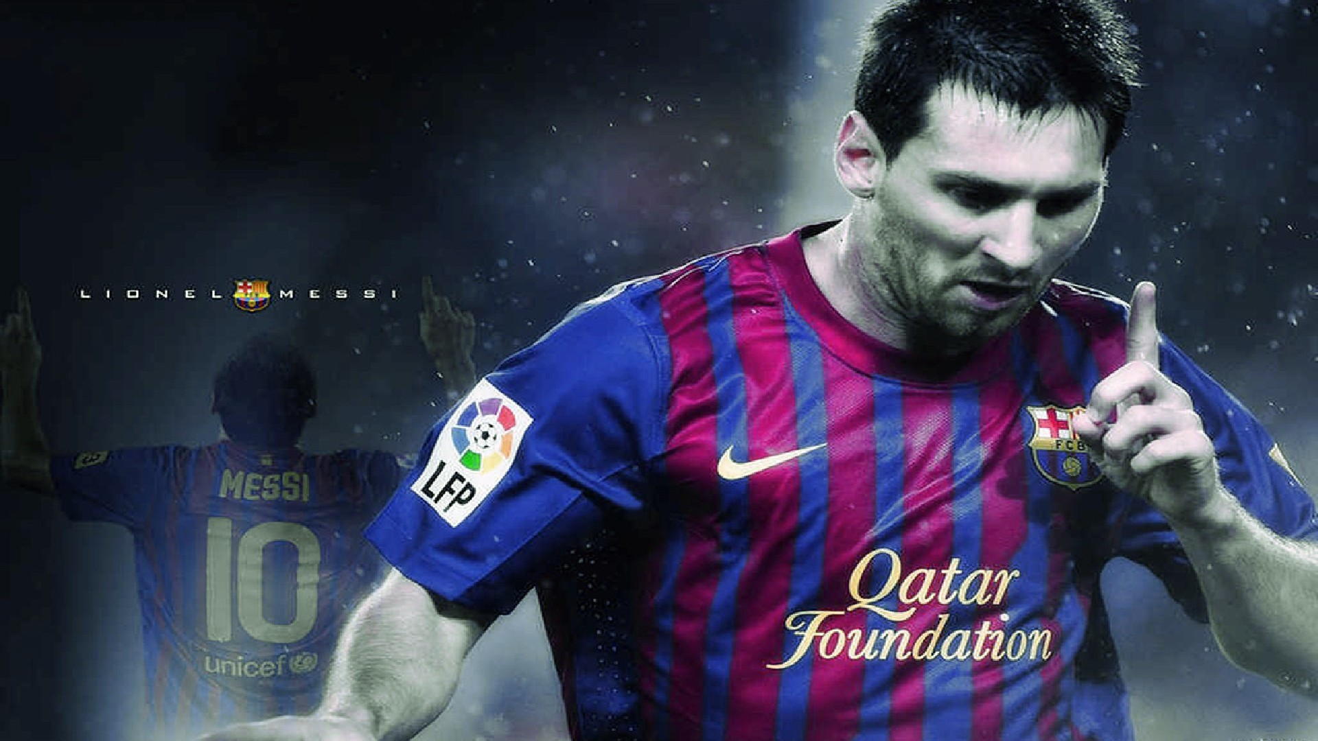 Footballeur Argentin Hd Wallpaper Lionel Messi De Barcelone lionel 1920x1080