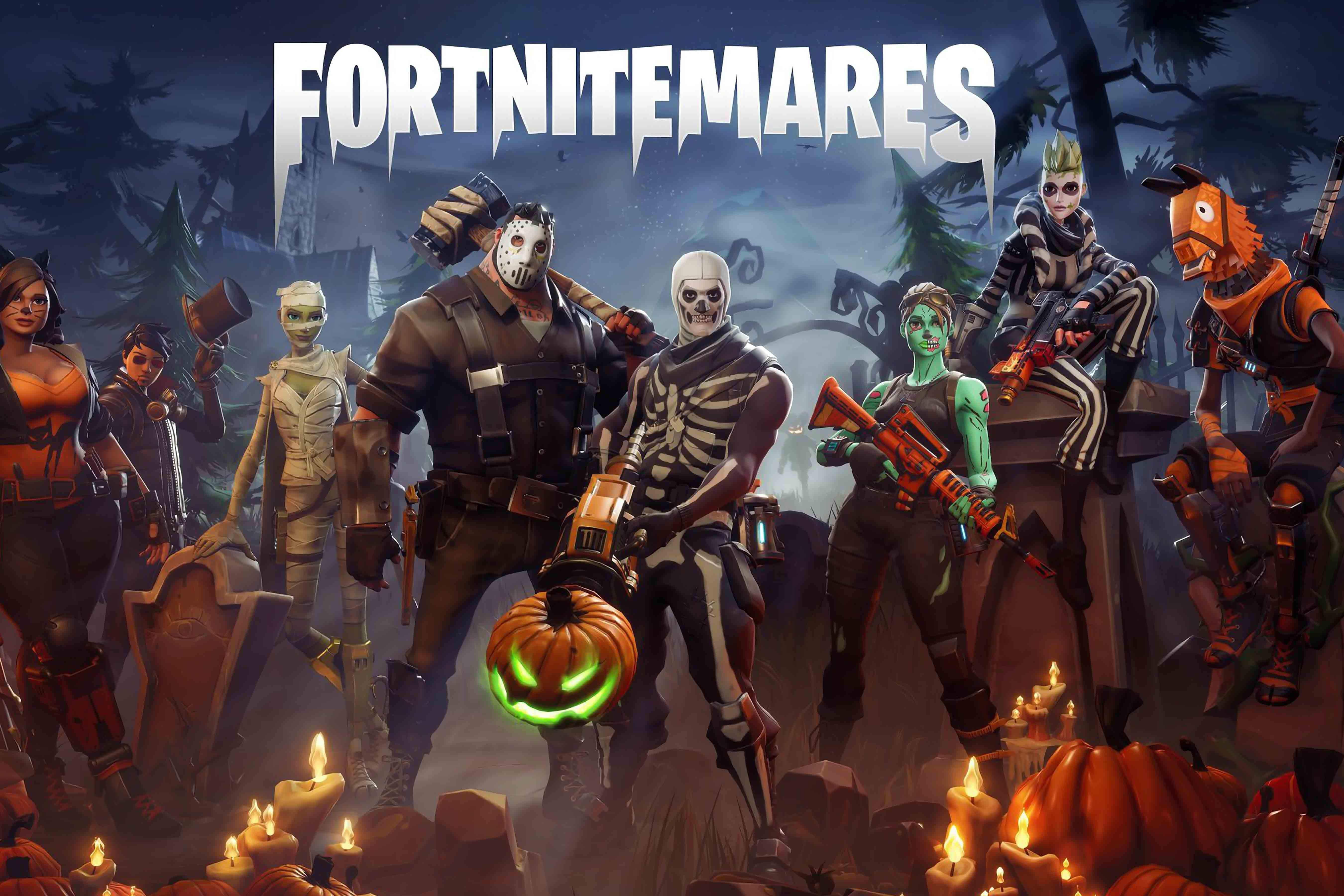 Fortnitemares Wallpapers 5400x3600