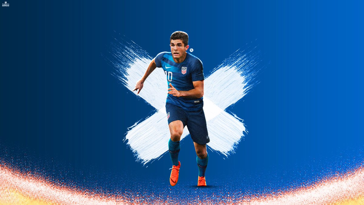 Graphistah on Twitter Christian Pulisic Wallpaper Likes and 1200x675