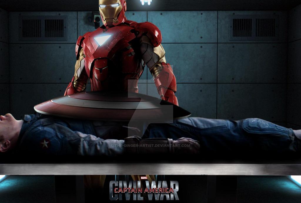 Captain America Civil War HD Posters Download 1024x691