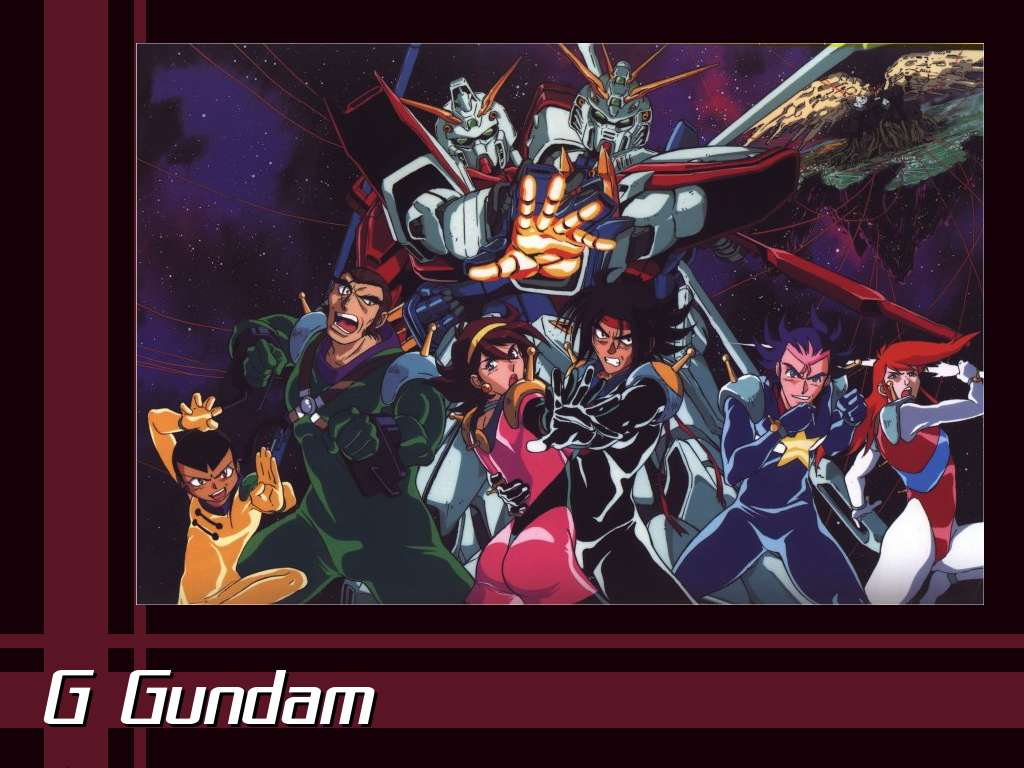 G Gundam Wallpaper 1 1024 x 768 Anime Cubed 1024x768