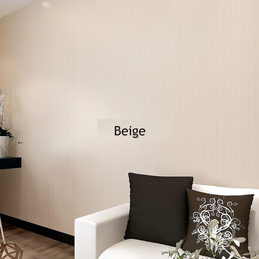 Glitter Wallpaper Stripe Solid Flocking Wallcovering Plain Wall Paper 1000x1000