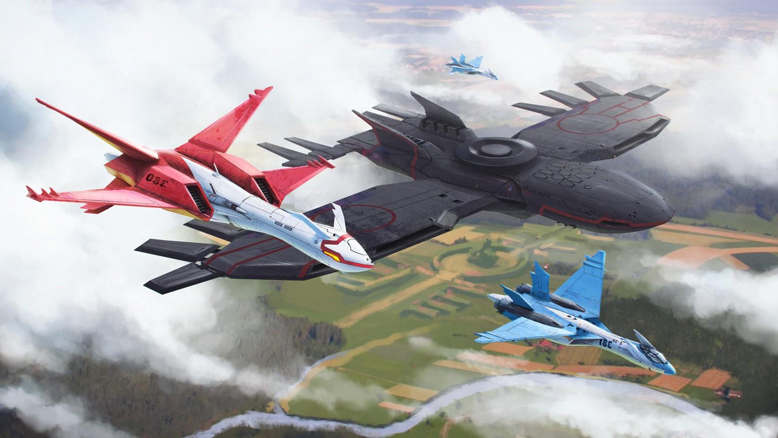 Latios Latias Jets Ace Combat Wallpapers HD Desktop 1600x900