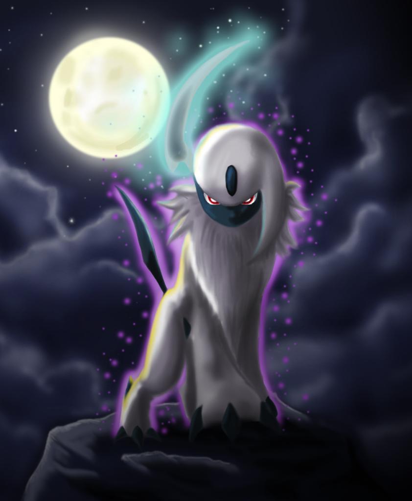 842x1024px Pokemon Absol Wallpaper