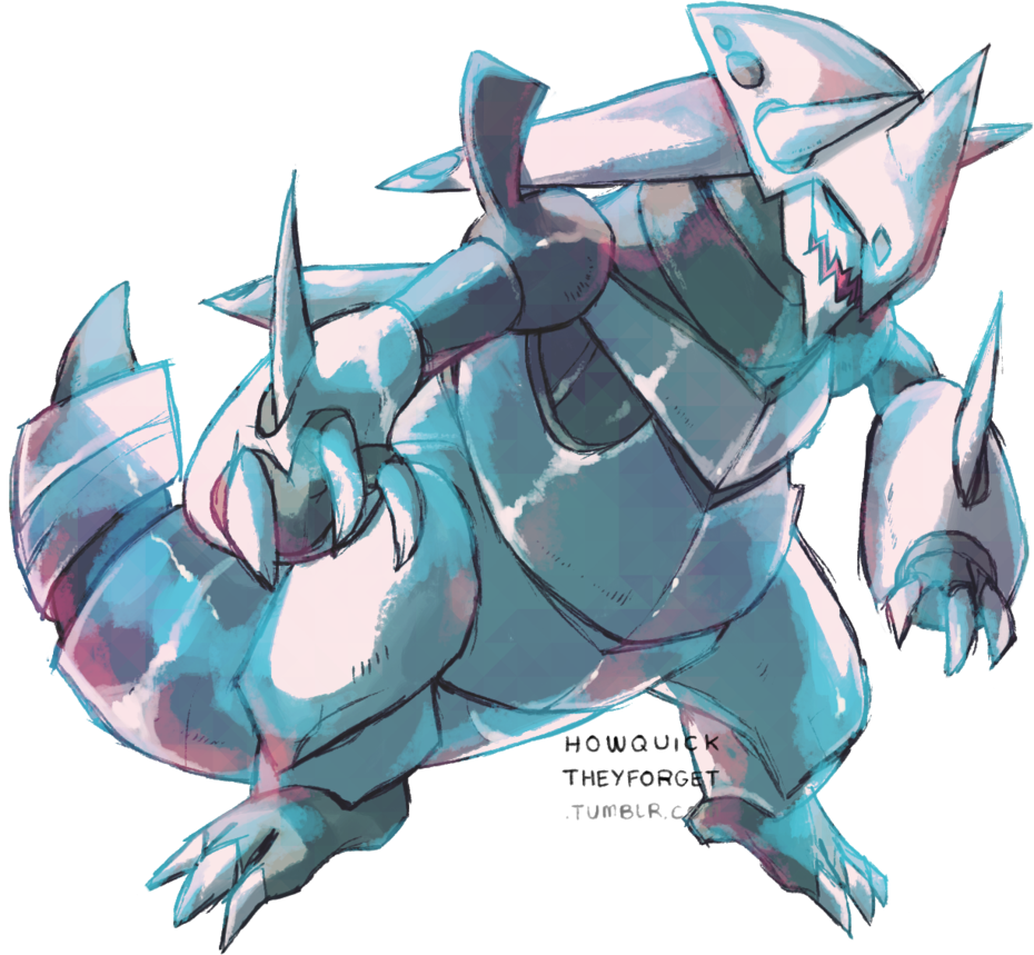 Mega Aggron by CamilleDionBolduc 930x859