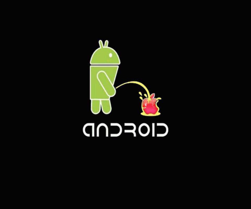 Android Vs Apple Hot HD Wallpapers 960x800