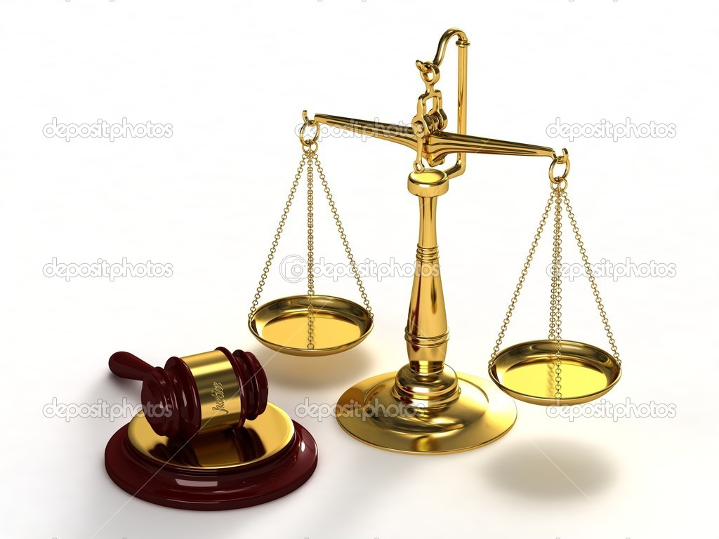 Scales of justice wallpaper
