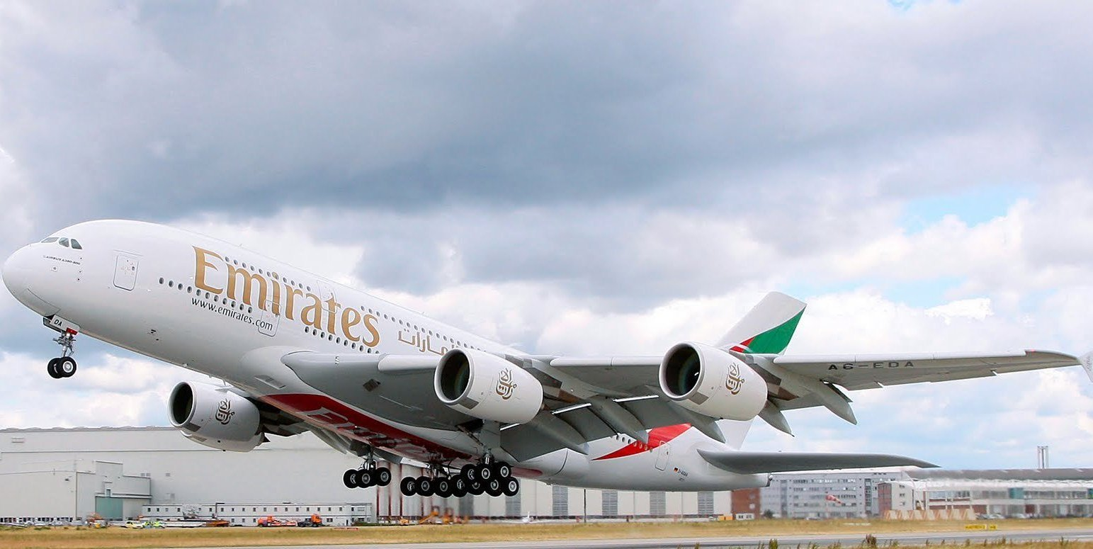 Airbus A380 Wallpaper 1543x775