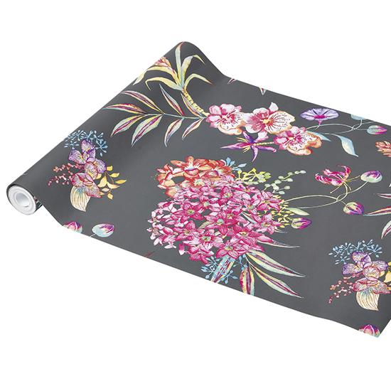 Feature Wallpaper bold floral wallpaper ideal home housetohomecouk 550x550